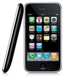 Side and front view of the iPhone 3GS