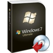 Microsoft Windows 7 installation package image